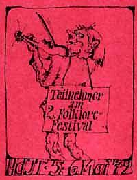 Folkfest-Plakat